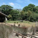 Waka shed at museum
